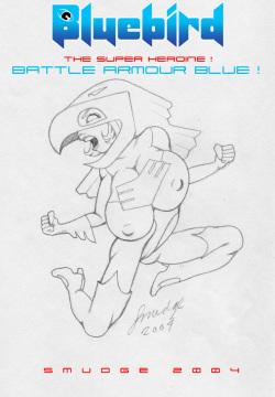 SuperHero - BlueBird