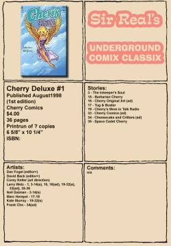 Cherry Deluxe #1 ENG